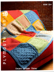 Encore Sampler Throw Book 654