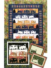 Rail Pass Quilt Pattern
