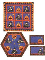 Mystic Witch Quilt Pattern