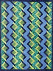 Twisted Trellis Quilt Pattern