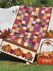 Bountiful Harvest Table Runner Quilt Pattern