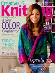Creative Knitting Summer 2013