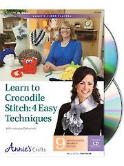 Learn to Crocodile Stitch Class DVD