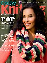 Creative Knitting Spring 2014
