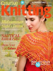 Creative Knitting Summer 2014
