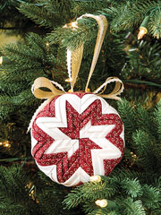 Craftdrawer Crafts How to make a NoSew ornament and free