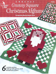 Granny Square Christmas Afghans