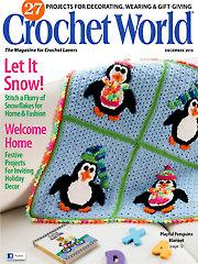 Crochet World December 2014