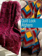 Quilt Look Afghans