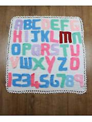 Alphabet Blanket Crochet Pattern