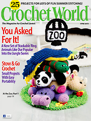 Crochet World June 2015