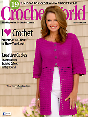 Crochet World February 2016