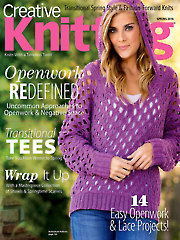 Creative Knitting Spring 2016