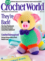 Crochet World April 2016