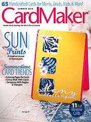 CardMaker Summer 2016
