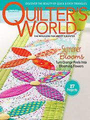 Quilter's World Summer 2016