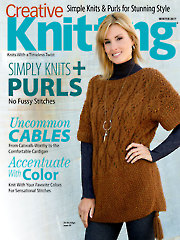 Creative Knitting Winter 2017