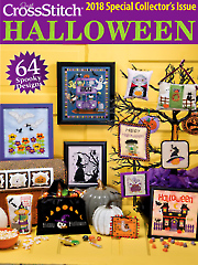 Just CrossStitch Halloween 2018