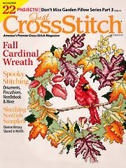 Just CrossStitch September/October 2018
