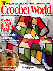 Crochet World October 2018
