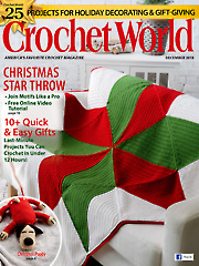 Crochet World December 2018
