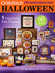 Just CrossStitch Halloween 2019