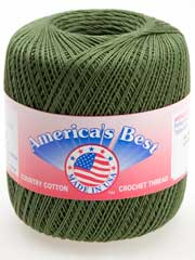 America's Best� Size 10 Cotton Thread - Avocado
