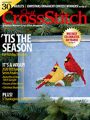 Just CrossStitch December 2020