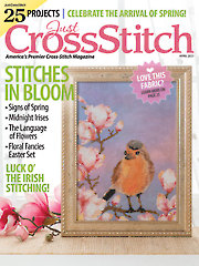 Just CrossStitch April 2021