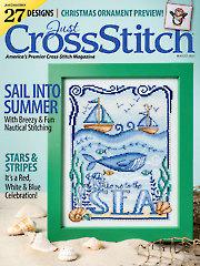 Just CrossStitch August 2021