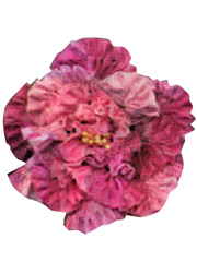 Chenille Flower Brooch Kits - Pink Flower