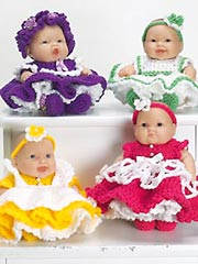 Sweet Little Baby Ruffles Pattern Set