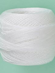 Tatting Thread - Bright White