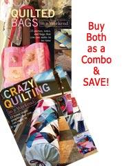 Quilted Bags/Crazy Quilting combo