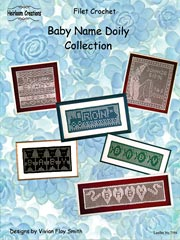Baby Name Doily Collection