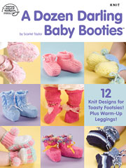 A Dozen Darling Baby Booties