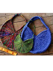 Sunburst Sling Bags Knit Pattern