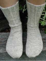 Left Foot Right Foot Sock Knit Pattern