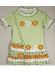 Flower Power T-Shirt Dress & Purse Pattern