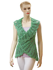 Gourmet Crochet Uptown Downtown Shrug Pattern