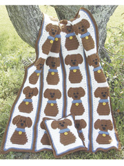 Puppy Love Afghan Pattern Pack