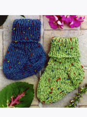 Little Speckled Toes Knit Pattern