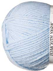 Plymouth Yarn� Encore Worsted Light Blue