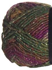 Plymouth Yarn� Boku Color 4 Green Purple Multi