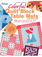 Colorful Quilt Block Table Mats
