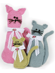 Fancy Felines Crochet Pattern Pack