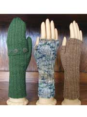 Fingerless Gloves/Mitts Knit Pattern