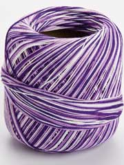 Omega Cotton Thread #10 - Variegated Purple