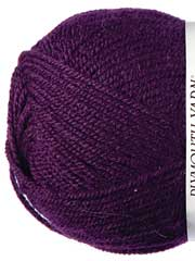 Plymouth Yarn� Encore Worsted Deepest Mauve