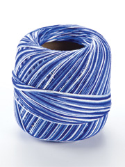 Omega Cotton Thread #10 - Variegated Blue